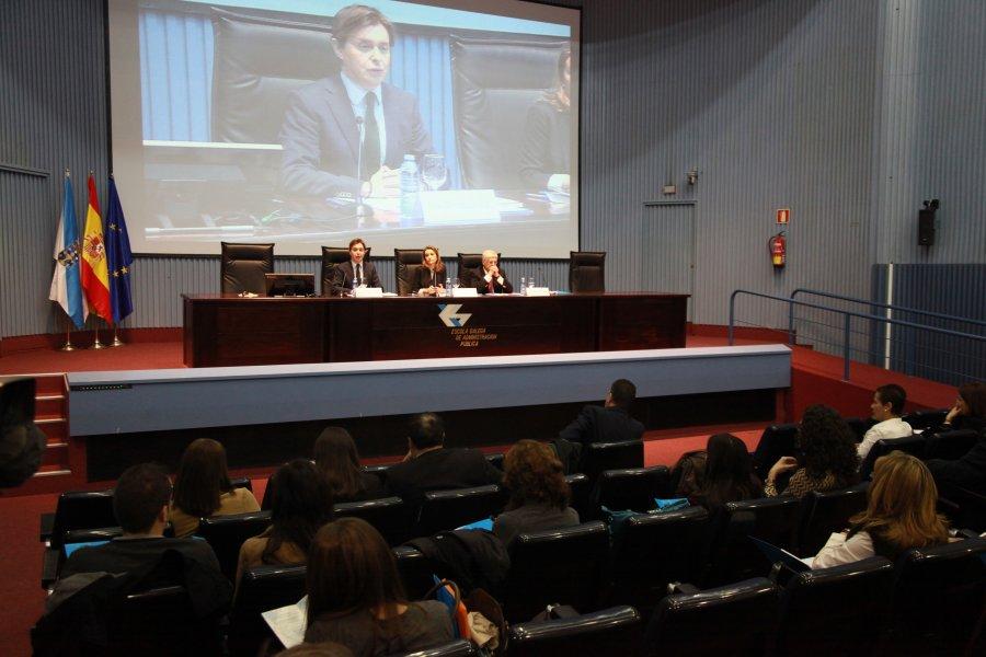 Inauguración do I Seminario internacional de transparencia administrativa